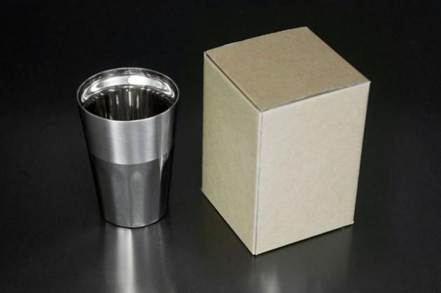シルキーM (ステンレス2重構造) 茶色紙箱