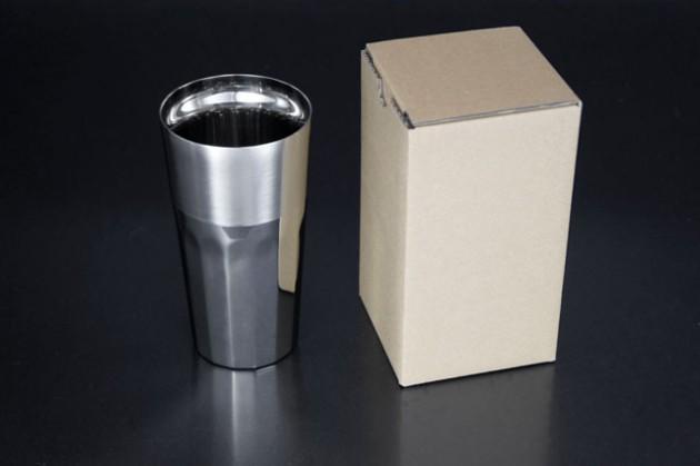 シルキーL (ステンレス2重構造) 茶色紙箱